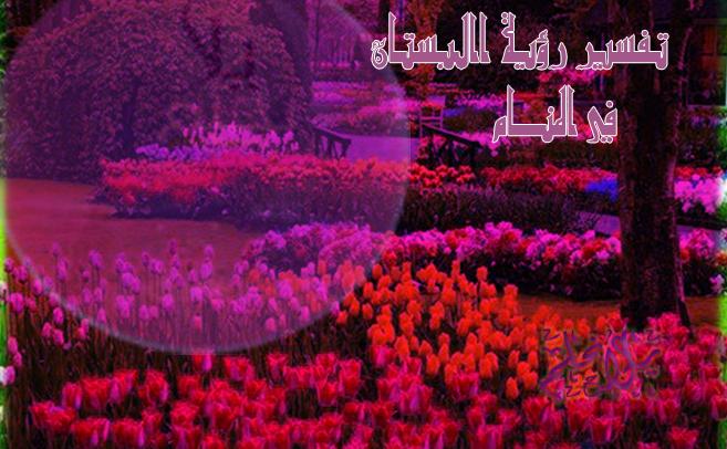 تفسير رؤية البستان الاخضر في المنام
